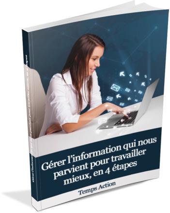 Gérer l'information en 4 étapes, le livre